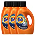 Tide Plus Febreze Fresh Sport Odor Defense Liquid Laundry Detergent Active Fresh Scent 1 36 L 46 Fl Oz 29 Loads Each 2 Packs