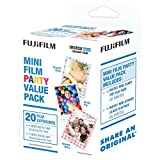 Photo : Fujifilm Instax Mini Film Party Value Pack - 20 Exposures