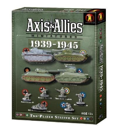 Axis and Allies Miniatures 1939-1945 (1939 Axis Allies Miniatures 1945)