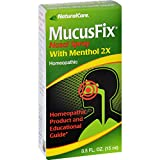 Natural Care MucusFix Nasal Spray - Homeopathic Remedies for Mucus Congestion due to Colds - 0.5 fl oz (Pack of 2)