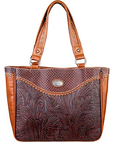 montana-west-womens-trinity-ranch-floral-leaf-pattern-concealed-handgun-brown-one-size