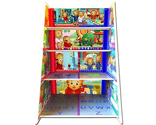 Daniel Tiger's Neighborhood Shelving and Play House by PlayandDisplays