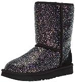 UGG Women's Classic Short Cosmos Fashion Boot, Black, 9 M US