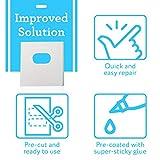 25 Sets of Clear Vertical Blind Repair Tabs