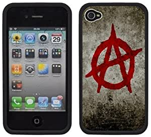 Anarchy Logo Handmade Case For Iphone 6 plus Cover Black Hard Plastic Case