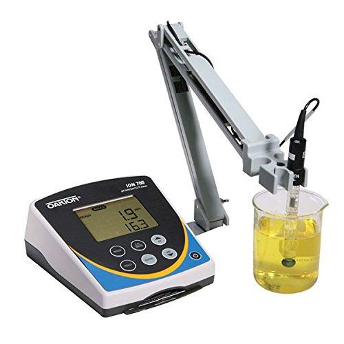 Oakton WD-35419-20 Oakton Ion 700 Benchtop Meter with DJ Refillable Glass pH Electrode, ATC Probe, - Refillable Electrodes