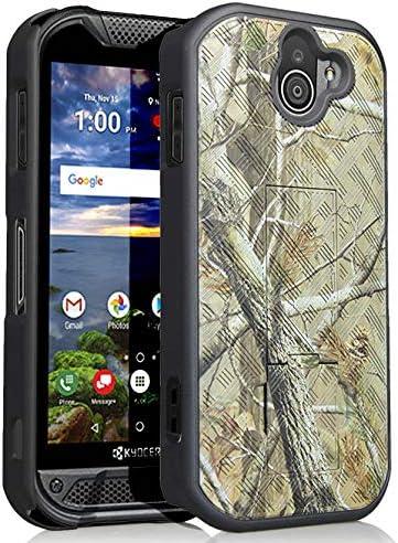 Kyocera Duraforce Pro 2 Funda, Nakedcellphone Slim Ribbed Rubber ...