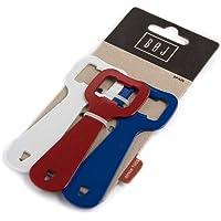 BOJ Set de 3 Abrebotellas (Rojo, Azul y Blanco) 06607