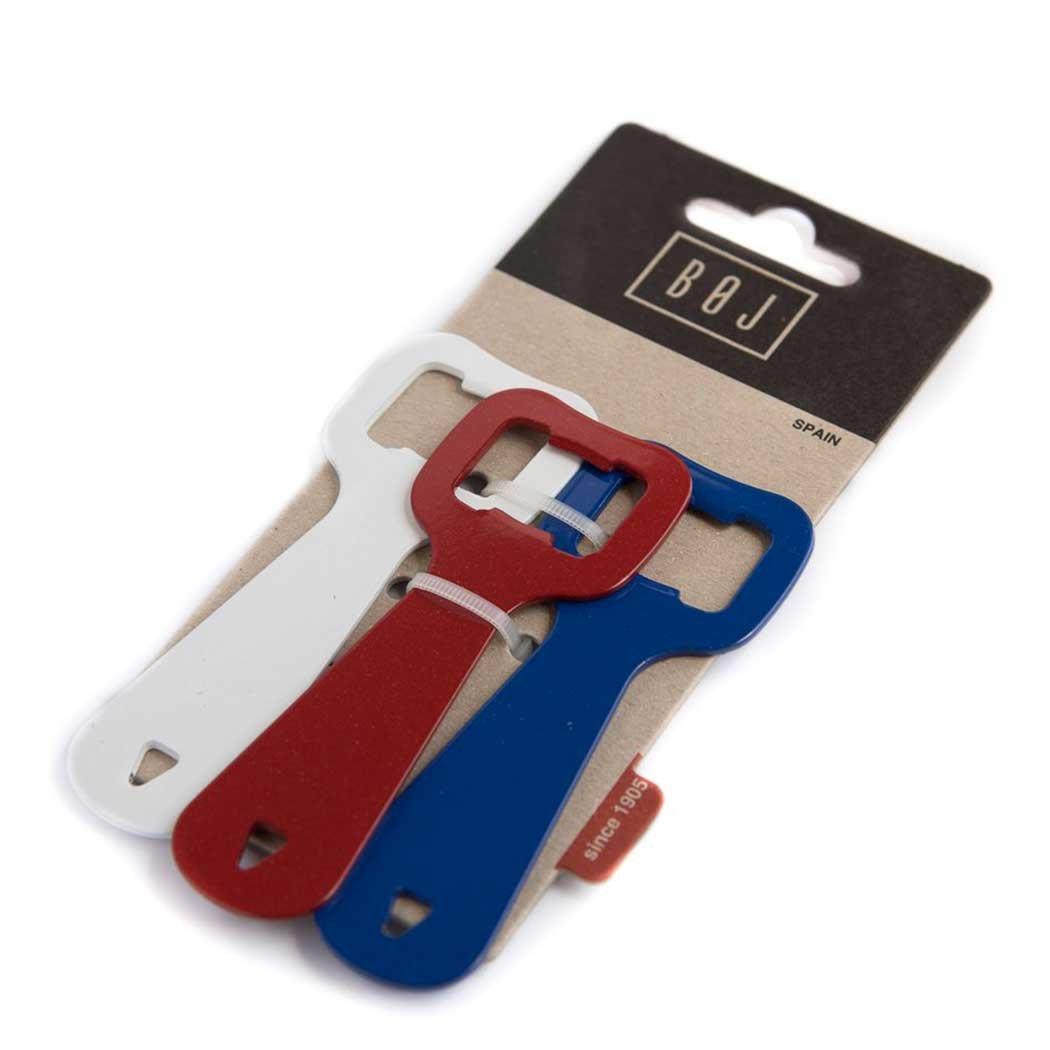 BOJ Set de 3 Abrebotellas (Rojo, Azul y Blanco) 06607 product image