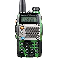 Baofeng UV-5RD Two-way Radio, Dual-Band 136-174/400-480 MHz FM Ham, 128 Channels For Outdoor, Hotel, Resturant - Camouflage