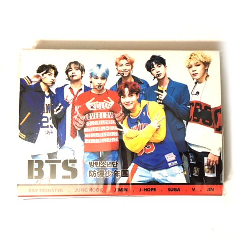 K-POP Sticky Notes (BTS, EXO, Twice, BLACKPINK, GOT7) (BTS)