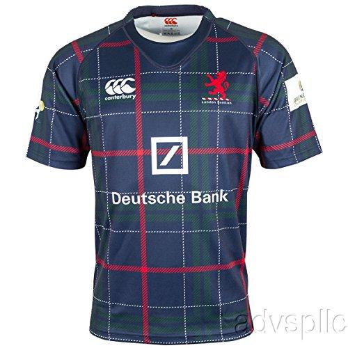 Canterbury London Scottish Tartan Pro Rugby Jersey