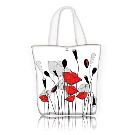 408ead19b6c Canvas Tote Bags —W23 x H14 x D7 INCH/Reusable Canvas Tote Bag Printed