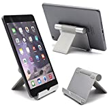 Ipad Stand Taidea® Multi-Angle Stand Aluminum Holder for Tablets, e-readers and Smartphones, Compatible with iPhone, iPad, Samsung Galaxy / Tab, Google Nexus, HTC, LG, Nokia Lumia, OnePlus and More