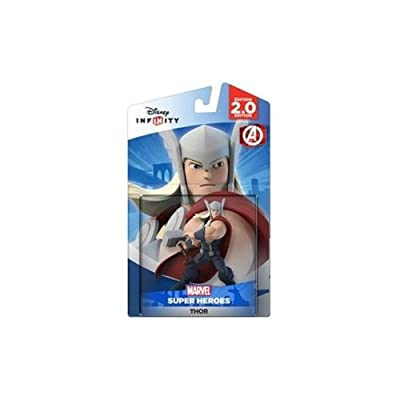 Disney Infinity: Marvel Super Heroes (2.0 Edition) Thor Figure - Not Machine Specific: Toys & Games