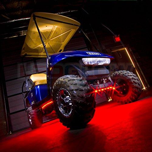 Ledglow 4pc Million Color Led Golf Cart Underbody