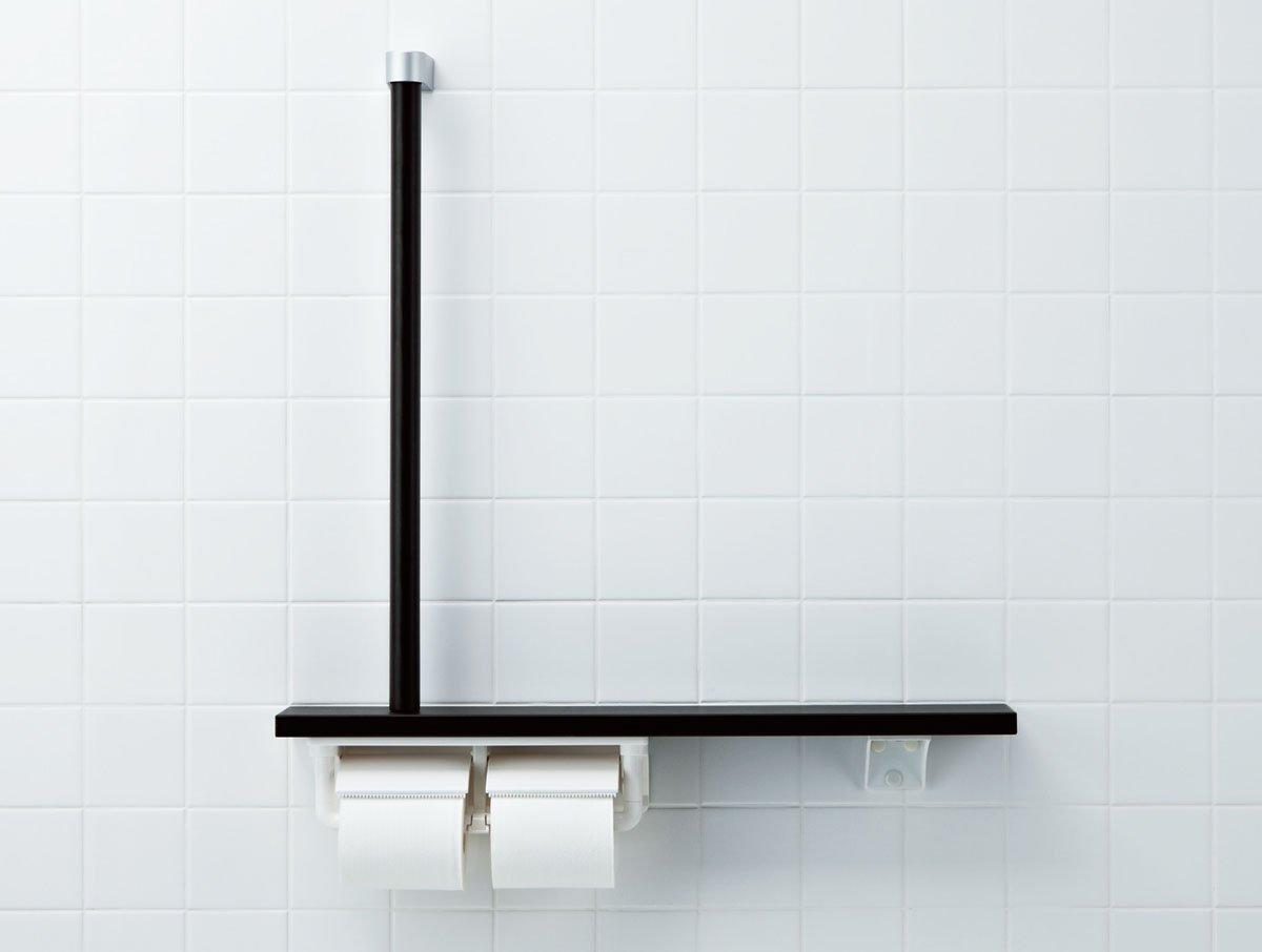 LIXIL(リクシル) INAX トイレ用 棚手すり(L型タイプ左右共通) クリエラスク NKF-3WU2/LL B00KJV5ZQO