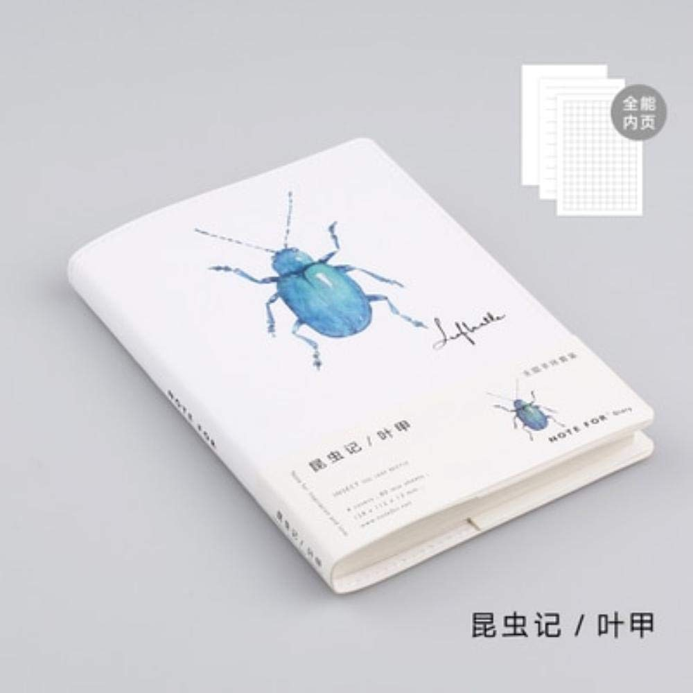 Amazon.com: Cute japonés Hobonichi estilo insectos A6 funda ...