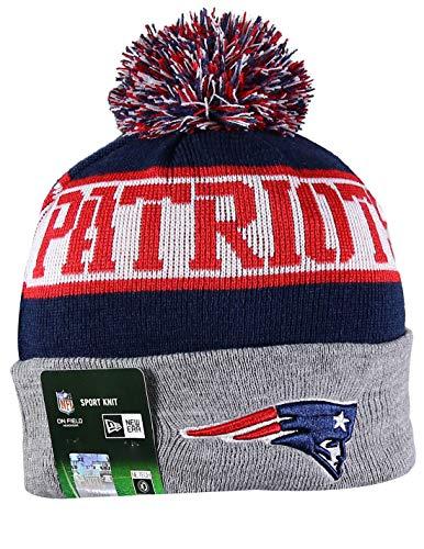 New England Patriots Wool - NE PATRIOTS Sport Knit Winter Wool Warm Beanie Pom Hat Multicolour