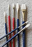 Oil/Acrylic Brush Set-Top Quality Hog Bristle