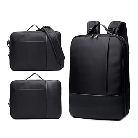 "Multifunctional 3-in-1 Convertible 15.6"" Laptop Backpack Briefcase Messenger Shoulder Bag for"