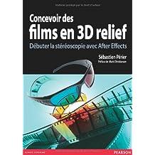 Concevoir films 3D relief + CD studio graphique