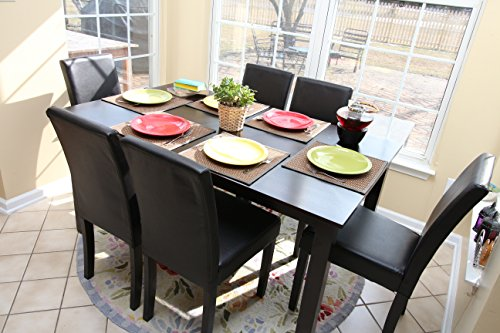 7 pc dining table set - 7