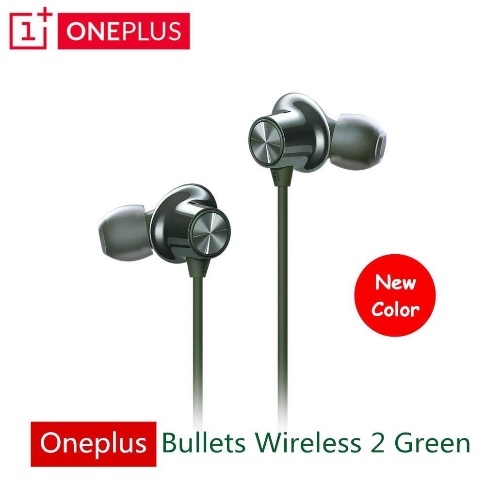 Verde Oliva Oneplus Bullets Wireless 2 Auricular Aptx Hybrid ...