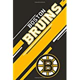 Boston Bruins: Boston Bruins Striped Notebook & Journal   NHL Fan Essential   Boston Bruins Fan Appreciation
