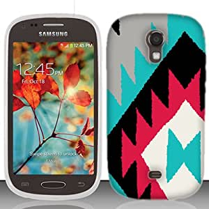 for Samsung Galaxy Light T399 Black Navajo Phone Cover Case