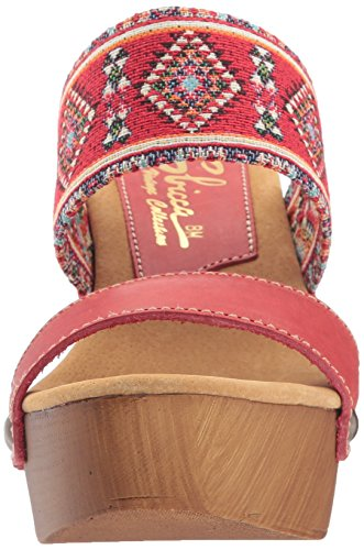 Sbicca Women's Kashmir Heeled Sandal Red/Multi LUmidD