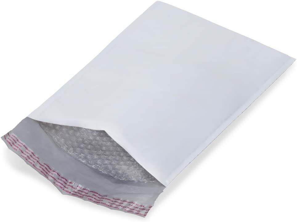 200 Combo Bubble Mailers #000,#00,#0,#1,#2,#3,#4,