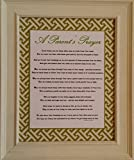 A Parent's Prayer - Framed Inspirational Blessings - Baby Gift for Parents of Twins or Multiple Children