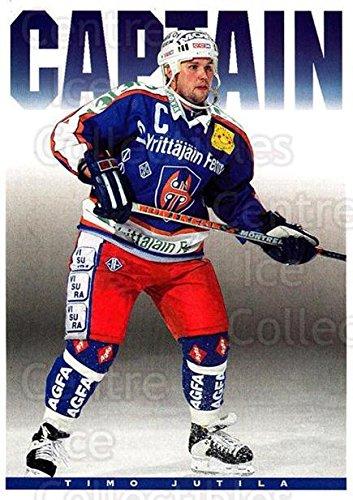 fan products of (CI) Timo Jutila Hockey Card 1994-95 Finnish Tappara Tampere Postcards 4 Timo Jutila
