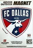 FC Dallas 5'' Vinyl Auto Home Magnet MLS Soccer Football Club