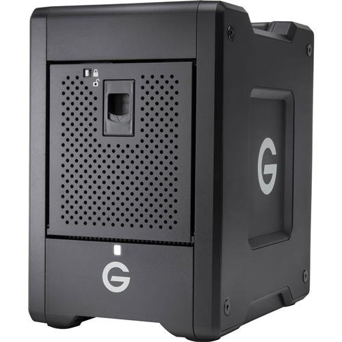 G-Technology 20TB G-SPEED Shuttle Thunderbolt 3 with ev Series Bay Adapters - Transportable 4-Bay RAID Storage Solution - 0G10141