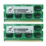 G.SKILL 8GB (2 x 4GB) 204-Pin DDR3 SO-DIMM 1333 (PC3 10600) Laptop Memory Model F3-1333C9D-8GSL