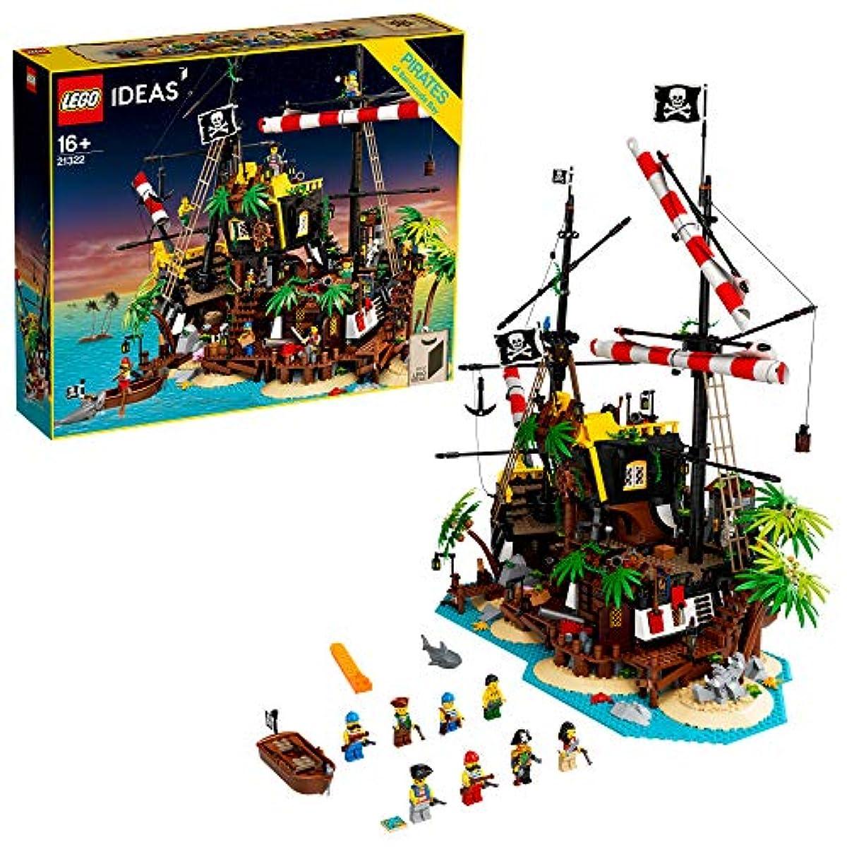 [해외] 레고(LEGO) 아이디어 적수염 선장인 해적도 21322