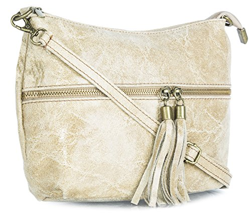 Tassel Handbag Soft Beige Suede Decorative Shoulder Shop Bag Big Womens ZSqHSg