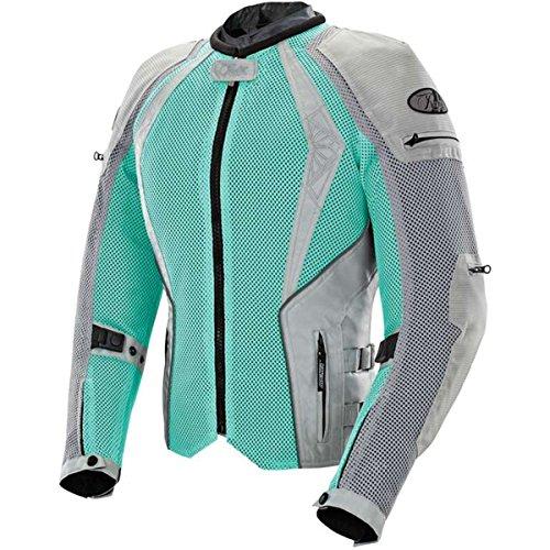 - Joe Rocket Cleo Elite Women's Mesh Street Motorcycle Jacket - Mint / Small