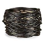 Metal Napkin Rings Birds Nest