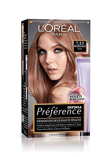 Teinture cheveux rose l'oreal