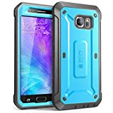 Galaxy S6 Case, SUPCASE Full-body Rugged Holster Case with Built-in Screen Protector for Samsung Galaxy S6 (2015 Release), Unicorn Beetle PRO Series - Retail Package (Blue/Black)
