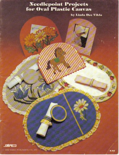 Needlepoint Projects for Oval Plastic Canvas (Sabra, S-83)