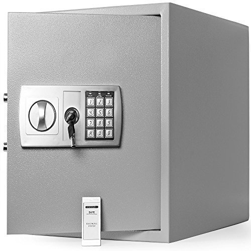 Dokumententresor 35x40x40 cm - Safe Tresor Wertschutzschrank elektronisch thumbnail