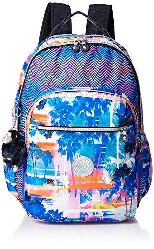 Kipling Seoul Go Laptop, Padded, Adjustable Backpack Straps, Zip Closure, PRTDPRSMCO (Backpacks Kipling Cute)