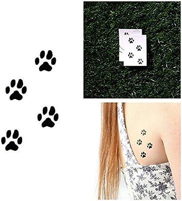 Tatuaje Temporal Tattify - Huella - En Camino (Juego de 2): Amazon ...