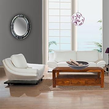 Spiegel Silber Oval Finja Wandspiegel In 3 Grossen Modern Barock