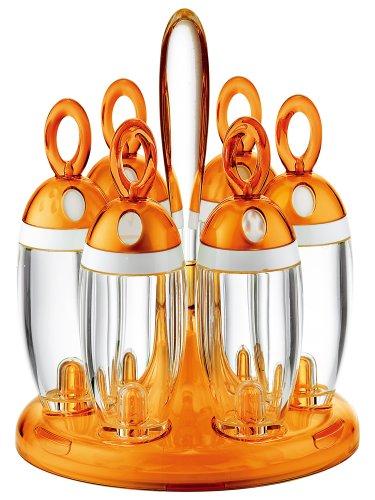 Guzzini Rotating Spice Rack Orange