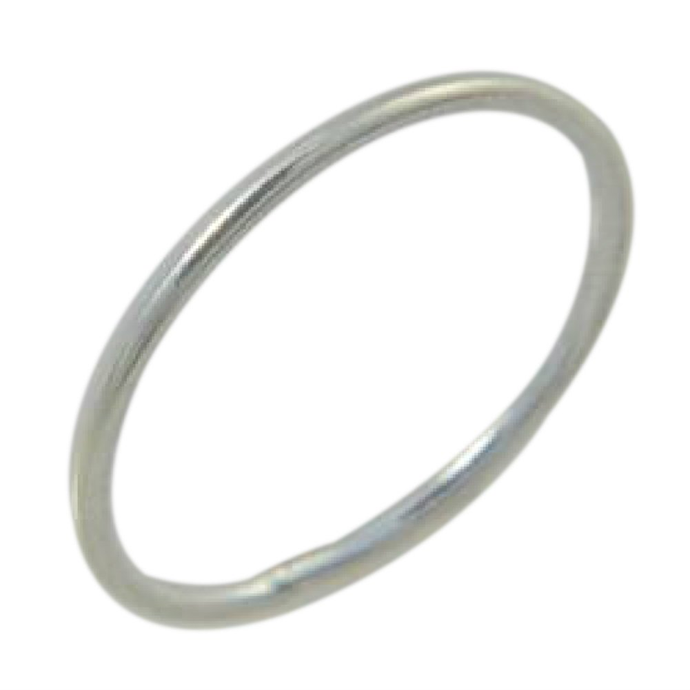 Sterling Silver 1mm Thin Wire Fitted Midi Toe Ring (3)